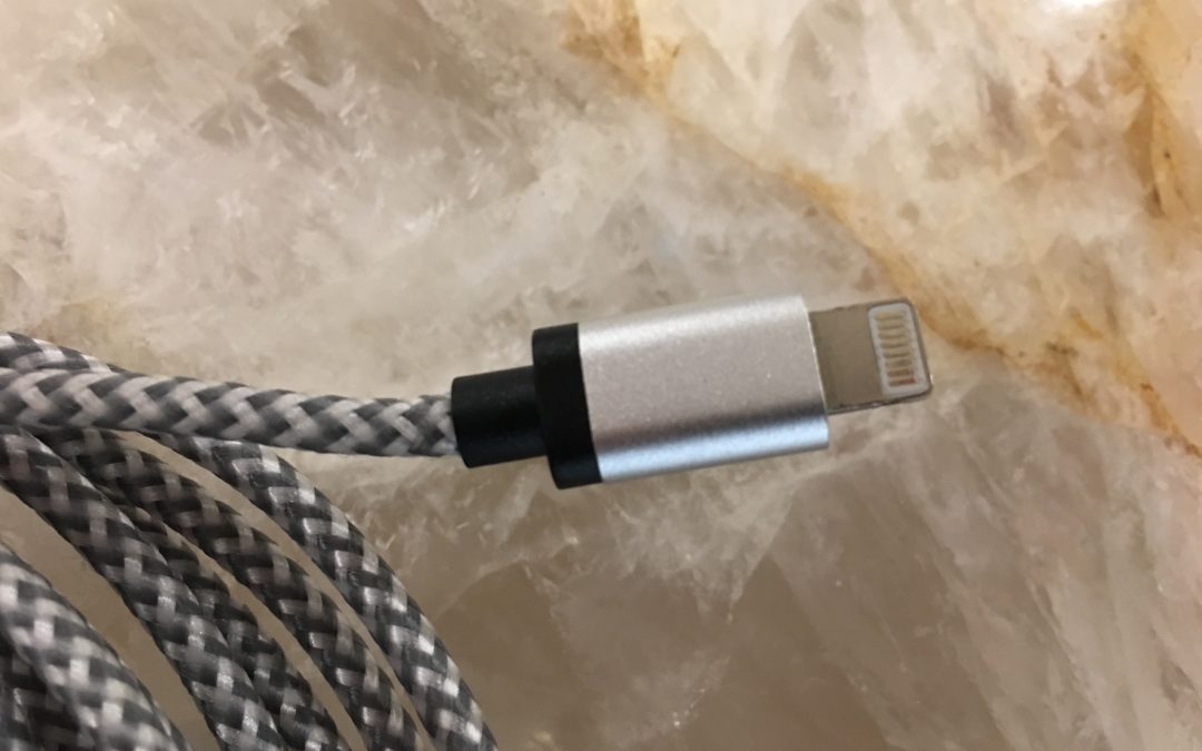 Praveen's Picks: Cablex Braided IPhone Lighting Cable