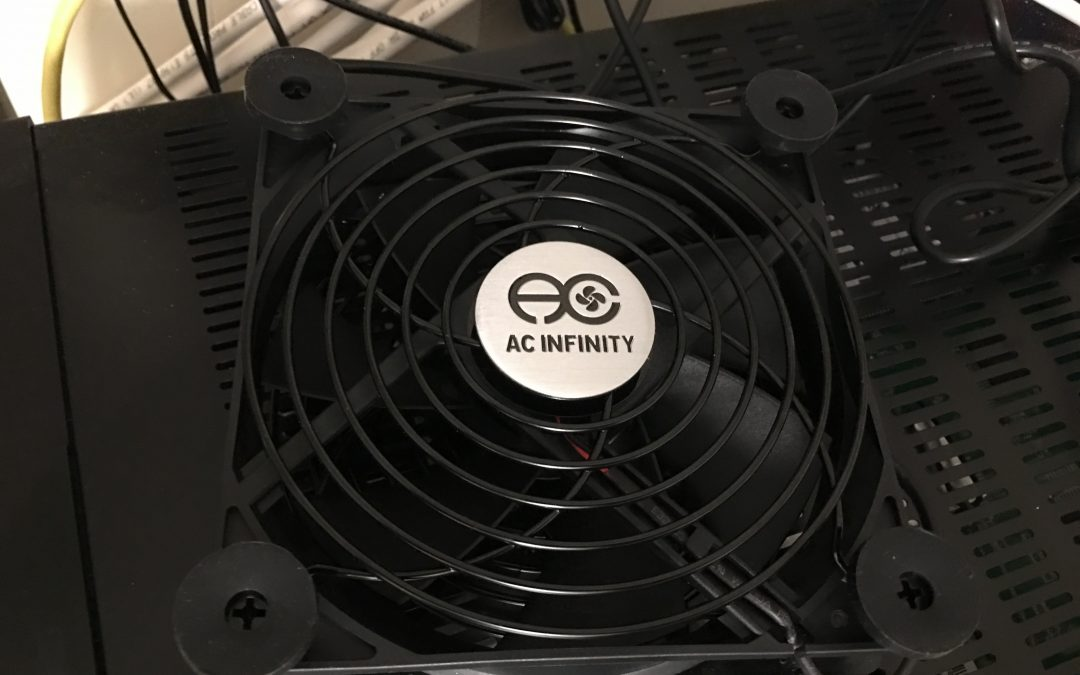Receiver Too Hot? Try Cooling the AC Infinity Multifan S7